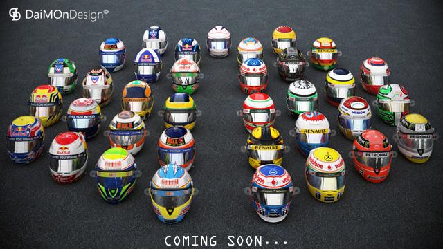 cascos mod F1 2010 rFactor