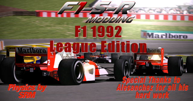 update para mod rFactor F1-S-R 1992 F1
