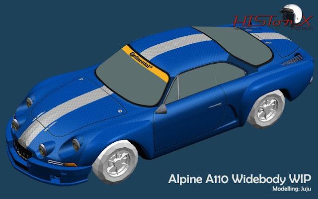 mod historX alpine A110