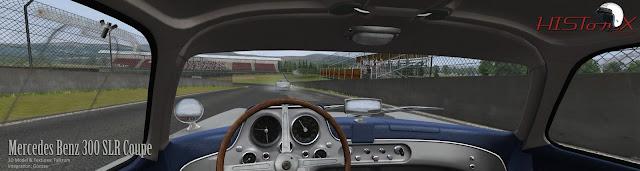 Mercedes 300SLR para rFactor