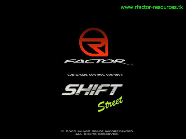 shift Street rFactor mod