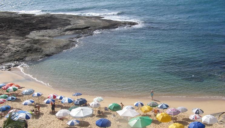 guarapari, fotos de praias de guarapari, turismo,  espirito santo