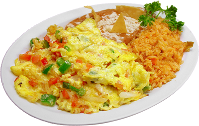 Recetas de Comida Gratis: Huevos a la Mexicana