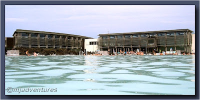 Blue Lagoon Iceland main buildings