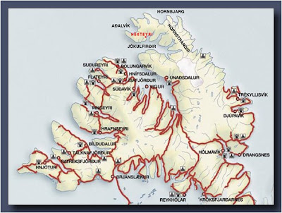 West_Fjords_Map