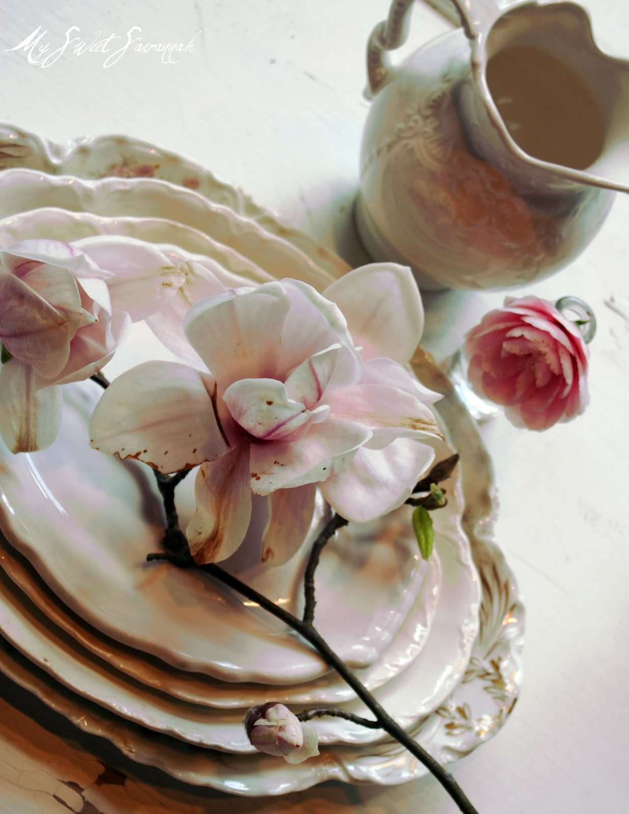 ~vintage table settings~ & My Sweet Savannah: ~vintage table settings~