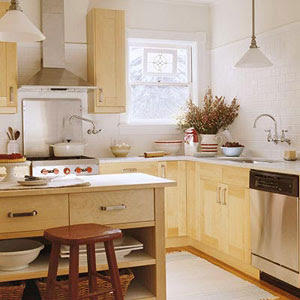 Small L Shaped Kitchen Layouts