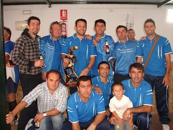 """Poyatos campeones del """"II Memorial Antonio David Moreno Braza"""" en La Muela"""