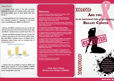 breast cancer brochure template - coding creativity a brochure design