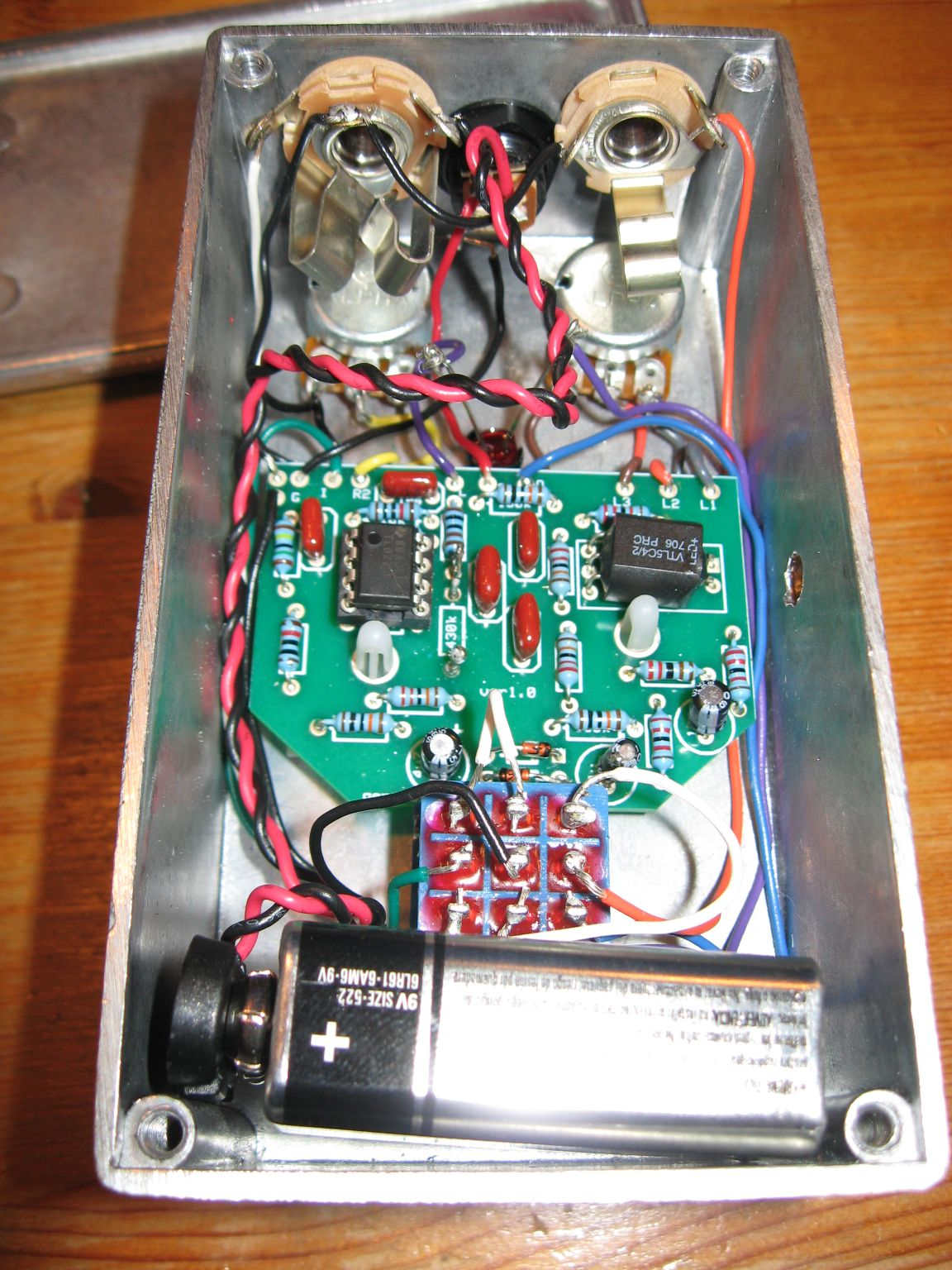 Music Wrench: DIY Envelope Filter Pedal