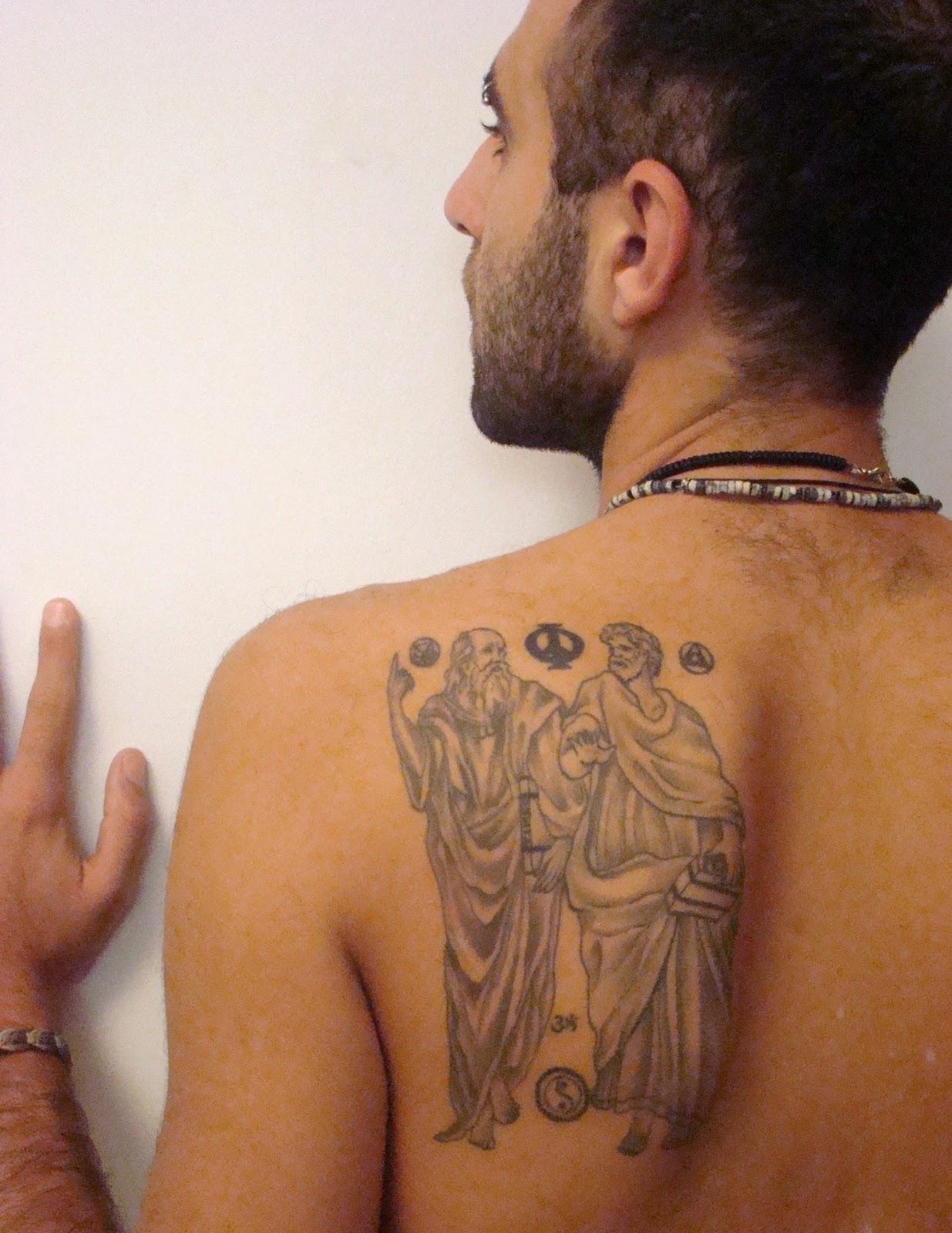 Greek Statue Tattoos