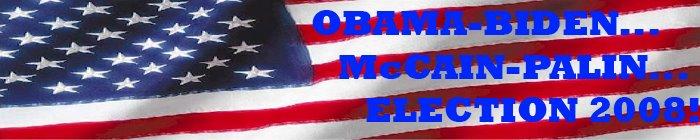 Obama-Biden...McCain-Palin...Election 2008!