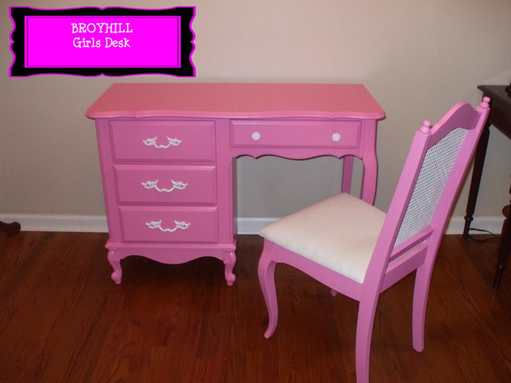 old wood new paint pink furniture