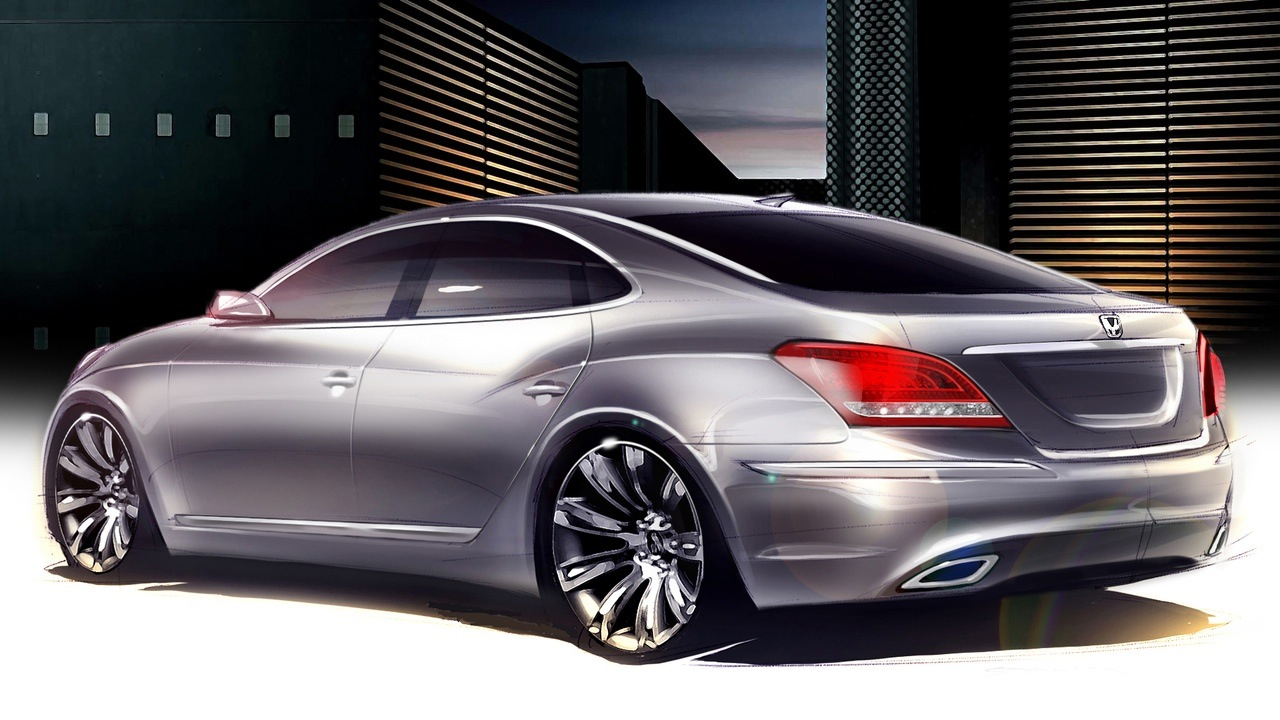 Hyundai I70 Price >> Best Car Guide, Best Car Gallery: Custom Hyundai Equus Design