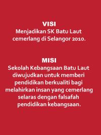 VISI & MISI SEKOLAH