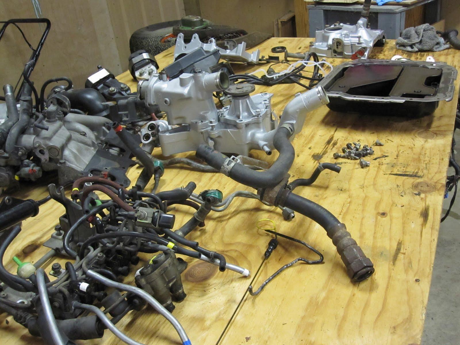 1993 Mazda Rx7 Rotary Engine Rebuild Part 1 Rx 7 Wiring Schematic