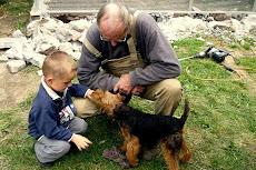 Kinder und Welsh Terrier