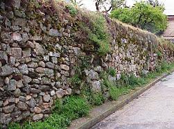 Cercas medievales de aldea D'Auila