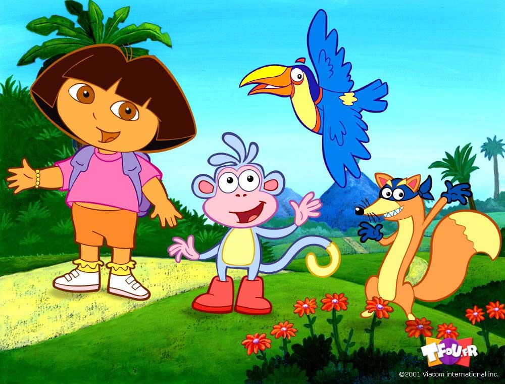 Top Cartoon Wallpapers: Dora the Explorer Wallpaper Gallery