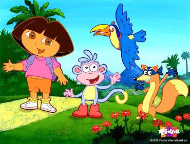 #1 Dora The Explorer Wallpaper