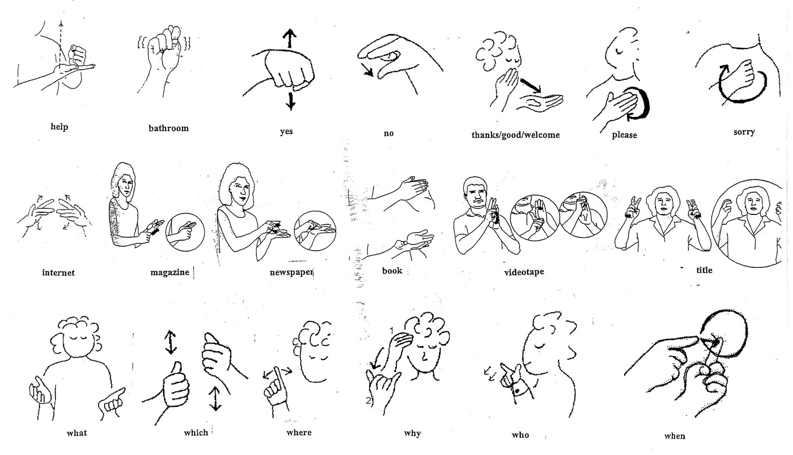 Style {in}Sight: Sign Language