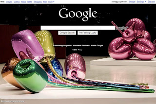 Google custom background