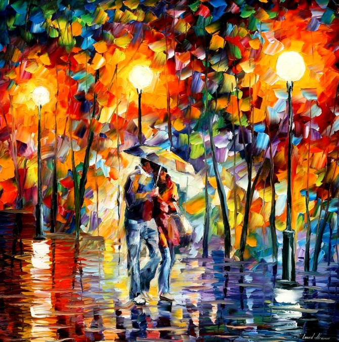 Alternate Inspiration Leonid Afremov Oil Paintings