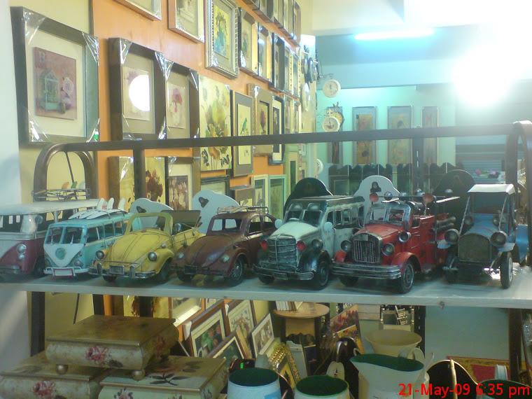 Model Kereta Antik