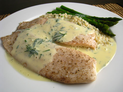 Baja news since 2007 dining white fish cilantro cream for White sauce for fish