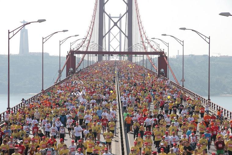 imagem da maratona de lisboa