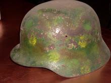 Casco de la  2ª Guerra Mundial