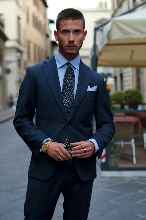 What To Wear Navy Suit Blue Dress Shirt Blue