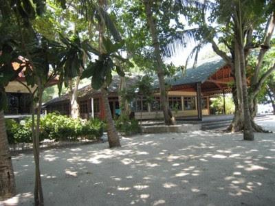 Ruang meeting di Pulau Putri Pulau Seribu