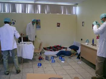 Evaluacion de protocolo de intervencion en el Lugar de los Hechos.