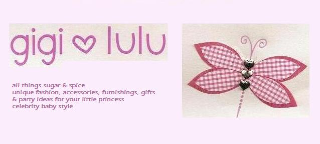 gigi + lulu - all things sugar n spice - for your little princess - celebrity baby style