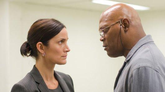 Carrie-Anne Moss y Samuel L. Jackson en 'Unthinkable'