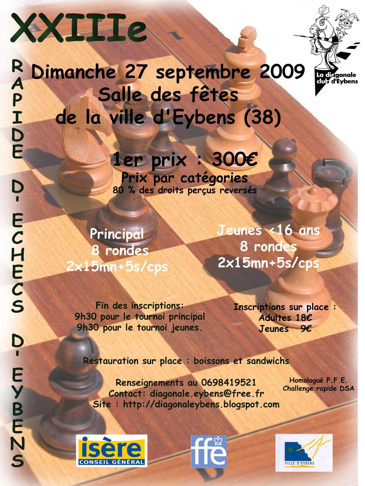 Voici l'affiche du tournoi. Aff2009.3.4