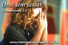 Missão também se faz com oração!