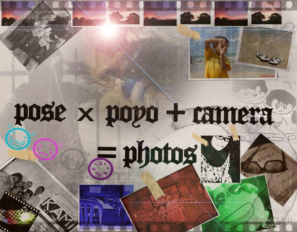 pose x poyo + camera = photos