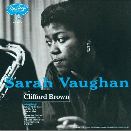Le registrazioni dell'età dell'oro - Pagina 3 Sarah+Vaughan+with+Clifford+Brown+%25281954%2529