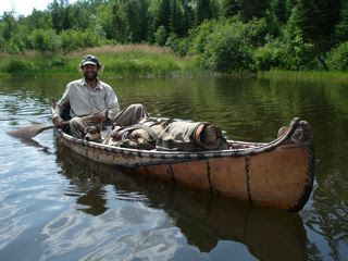 Erik on the PIgeon River this week, while being filmed