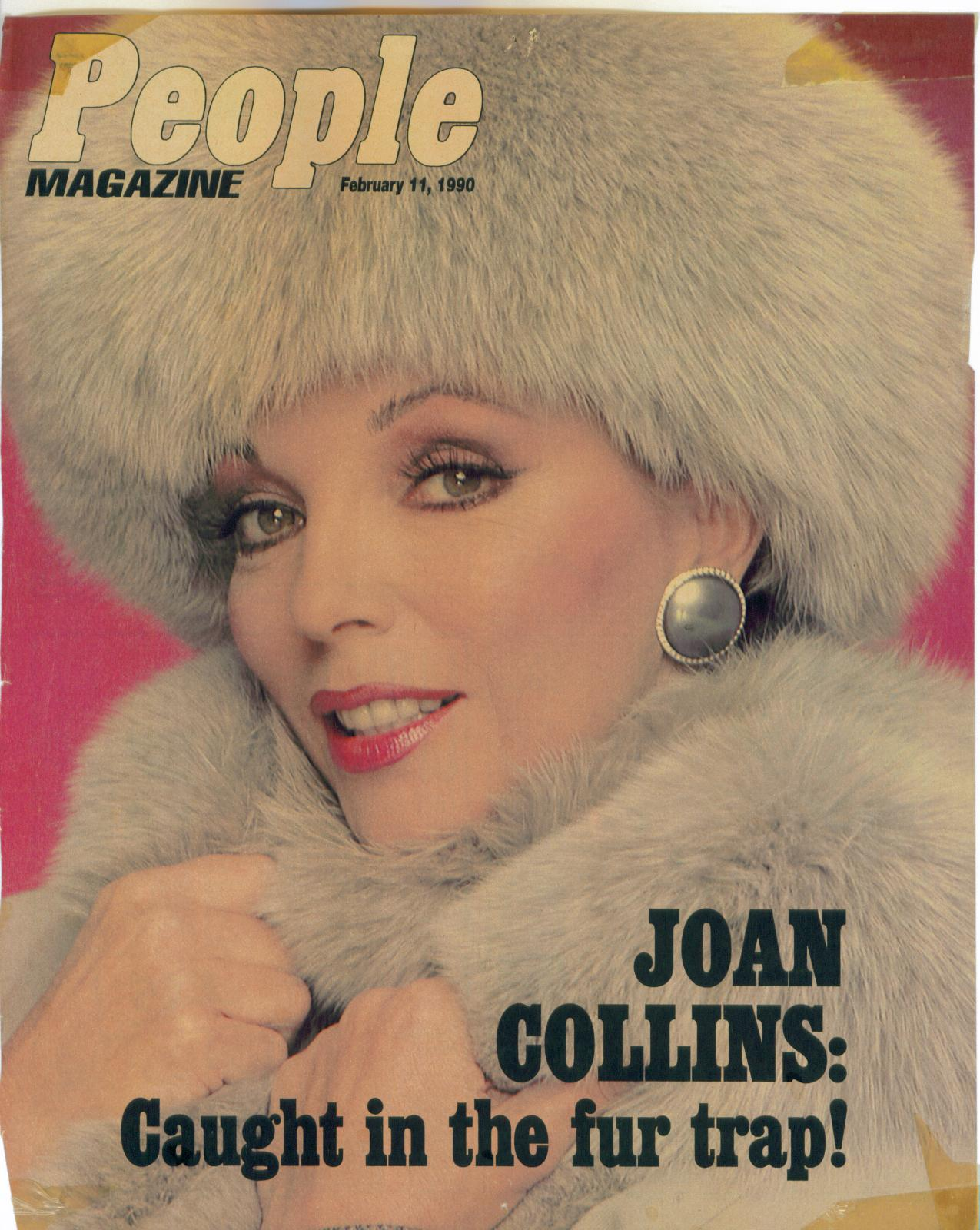 Joan Collins in Dynasty!