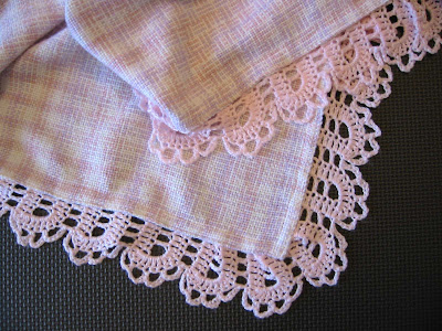 Free Crochet Edge Patterns Receiving Blanket Pakbit For