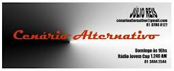 """apoio: Rádio Capibaribe programa """"cenário alternativo"""" com júlio reis."""