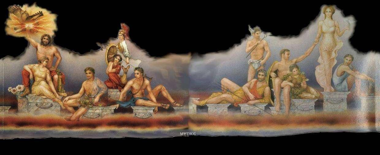 La odisea de los dioses dioses griegos y romanos for En la mitologia griega la reina de las amazonas