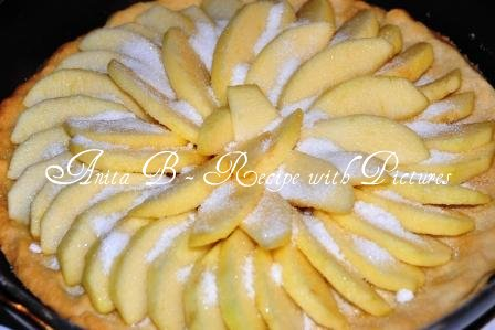 Recipe With Pictures: Quick and Easy Apple Tart