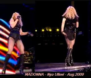 Madonna - Nya Ullevi - 8 och 9 augusti 2009