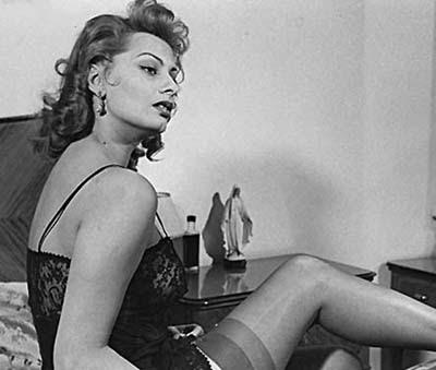 Famous Women in Slips