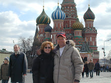 Mama and Daddy on Red Square
