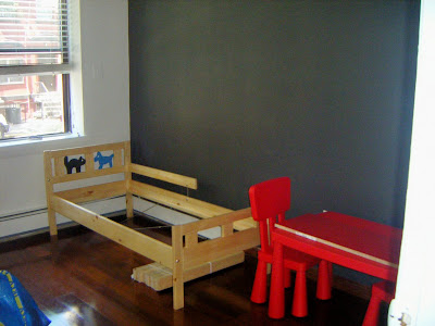 Itu0027s Not The Vision I Have For The Whole Place But For The Kids Room Itu0027s  Sturdy Inexpensive Furniture.
